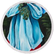 Season Quenepe Round Beach Towel