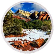 Sedona Arizona - Wilderness Round Beach Towel