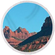 Sedona Panorama Round Beach Towel