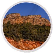 Sedona Vista 49 Round Beach Towel
