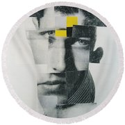 When I Was Young  I Was So Much Older Then - Im Younger Then That Now Round Beach Towel