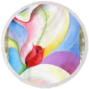 Sensitive Touch Round Beach Towel