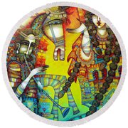 Serenade Round Beach Towel