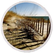 Dune Round Beach Towel by Iconic Images Art Gallery David Pucciarelli