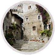 Sermoneta Round Beach Towel