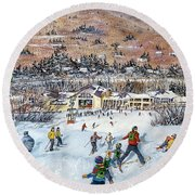 Seven Brothers Round Beach Towel