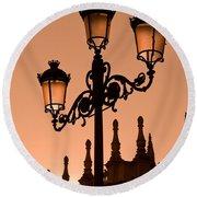 Seville Lantern Round Beach Towel