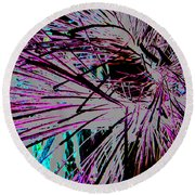 Round Beach Towel featuring the photograph Shatter  by Jamie Lynn