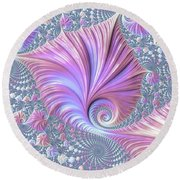 She Shell Round Beach Towel by Susan Maxwell Schmidt