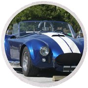 Shelby Cobra Round Beach Towel by Christiane Schulze Art And Photography