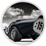 Shelby Daytona Round Beach Towel by Douglas Pittman