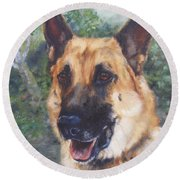 Shep Round Beach Towel