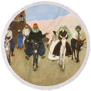 Should Women Ride Astride?, From The Round Beach Towel by Lance Thackeray