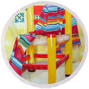 Silla De La Cocina--kitchen Chair Round Beach Towel