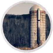 Silo Round Beach Towel