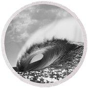 Silver Peak Round Beach Towel