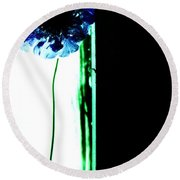 Round Beach Towel featuring the photograph Simply  by Jessica Shelton