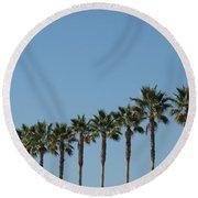 Simply Palms Round Beach Towel
