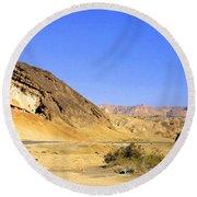 Sinai Desert  Round Beach Towel