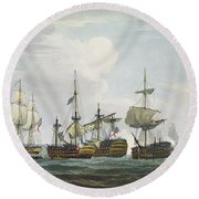 Situation Of Hms Temeraire At The Round Beach Towel