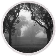 Round Beach Towel featuring the photograph Skc 0063 Atmospheric Bliss by Sunil Kapadia