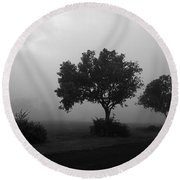 Round Beach Towel featuring the photograph Skc 0074 A Family Of Trees by Sunil Kapadia