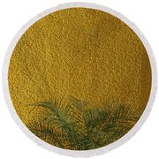 Round Beach Towel featuring the photograph Skc 1243 Colour And Texture by Sunil Kapadia