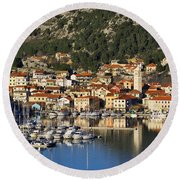Skradin Round Beach Towel