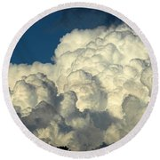 Skyward Sculpture Round Beach Towel