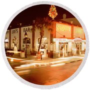Sloppy Joes Bar, Duval Street, Key Round Beach Towel