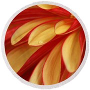 Smooth As Butter  Round Beach Towel