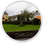 Sneem- Home Of The Blue Bull Round Beach Towel