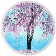 So Spring Round Beach Towel