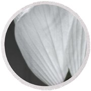 Softly Now Round Beach Towel