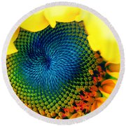 Solar Energy Round Beach Towel