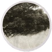 Somewhere To Dream Round Beach Towel by Amy Weiss