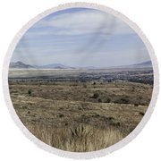 Sonoita Arizona Round Beach Towel