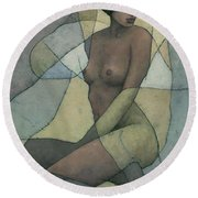 Sonora Round Beach Towel