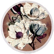 Sophisticated -02bb1d Round Beach Towel