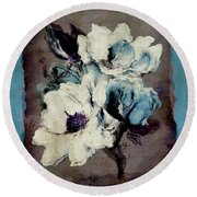 Sophisticated - A22c Round Beach Towel