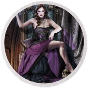 Soul Collector Round Beach Towel