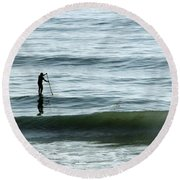 Soul Searcher Round Beach Towel