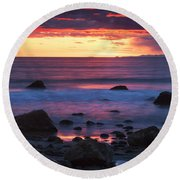 Sound Colors Round Beach Towel