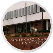South Carolina State University 2 Round Beach Towel