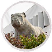 South Carolina State University Bulldog Round Beach Towel