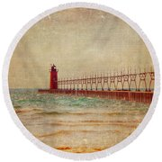 South Haven Round Beach Towel