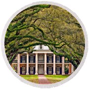 Southern Class Oil Round Beach Towel