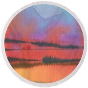 Southland Round Beach Towel