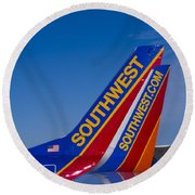 Southwest Round Beach Towel