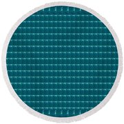 Sparkle Teal Pattern With Border Elegant Energy Art  Navinjoshi  Download Rights Managed Images Grap Round Beach Towel